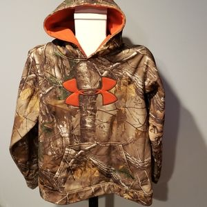 Under Armour Camouflage youth extra large hoodie